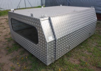 Enclosed ute canopy - can be custom built to suit your needs