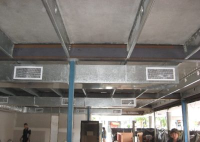 Supply air ductwork