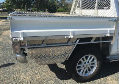 Aluminium underbody toolbox