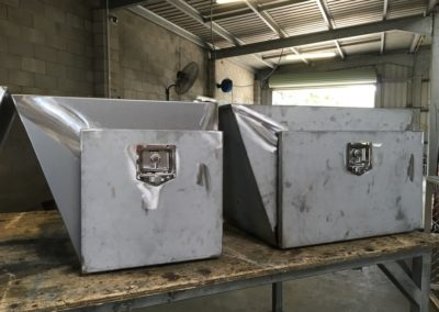 Zinc Anneal underbody toolboxes